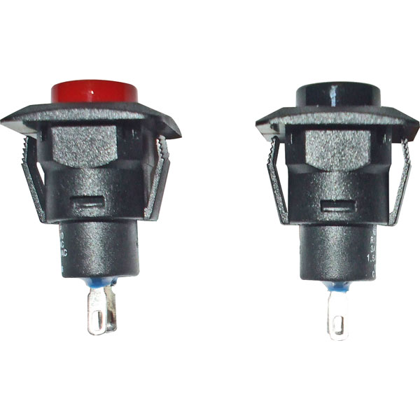 SCI R13-510A Red Push Button Switch Push to Make