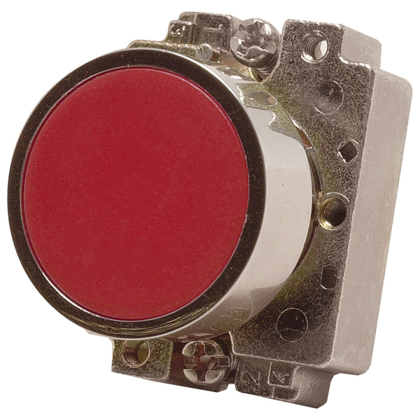 Europa Components RCAS-PBF5 Flush Button Switch Amber