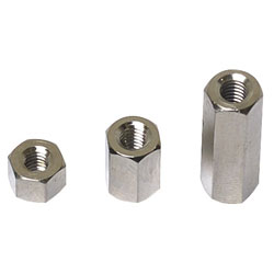 Affix Hex Threaded F-F Spacers M3 30mm - Pack Of 25