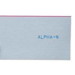 Alpha Wire 3580/10 SL005 Ribbon Cable Grey 10 Way (30.5m Reel)