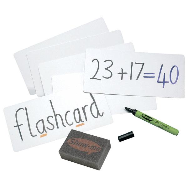 Image of Show-Me Dry Wipe Flashcards (Bulk Box of 100)