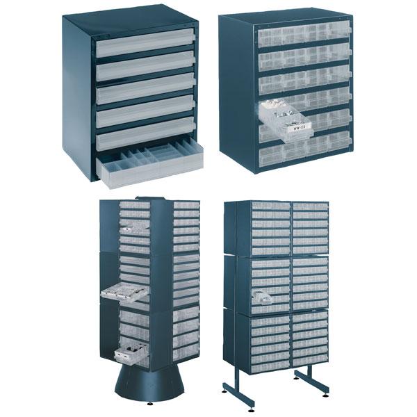 Raaco Steel Storage Cabinet 250 Range Rapid Online