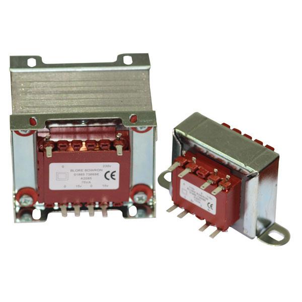 VTX-126-006-2045 Chassis Mount Transformer 230V 6VA 4.5V+4.5V vigortronix