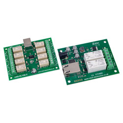 Devantech Multichannel Relay Module Boards