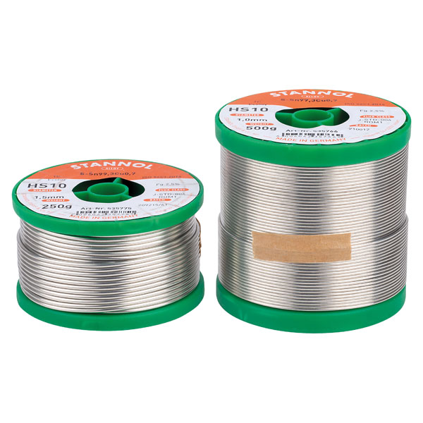 Image of Stannol 535803 Solder Wire HS10 Sn99Cu1 1.5mm 500g