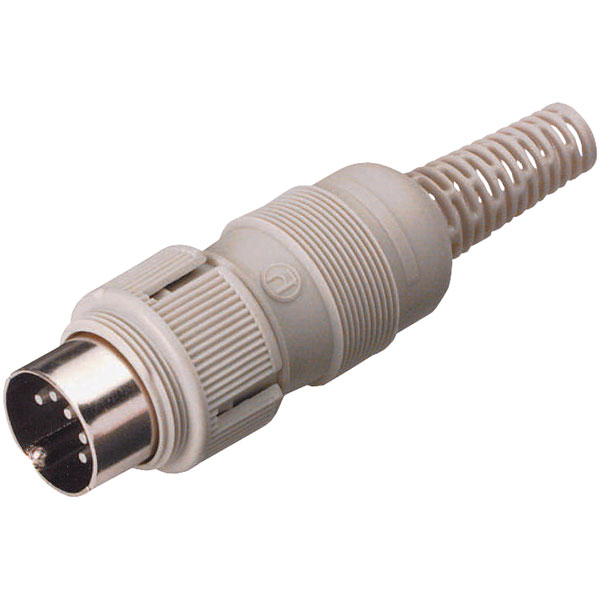 Hirschmann 930 304-517 MAS 3100 3-Pin Male DIN Plug, Cable Mount