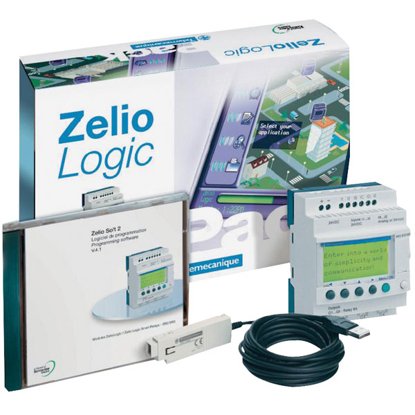 Image of Schneider Electric SR2PACKFU Zelio PLC Starter Kit