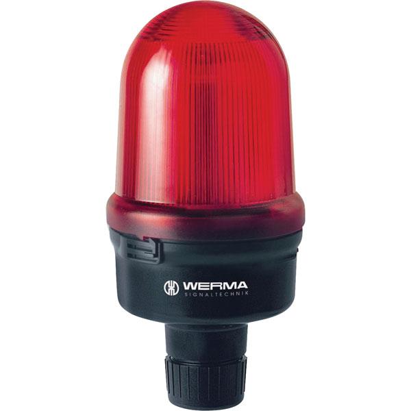 Werma Signaltechnik 829.127.55 LED-Double Flash Beacon Rm 24VDC Red
