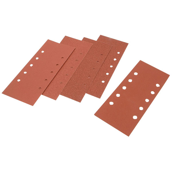 5 Black /& Decker 1//3 Sanding Sheets Orbital X31517 Perforated 80g