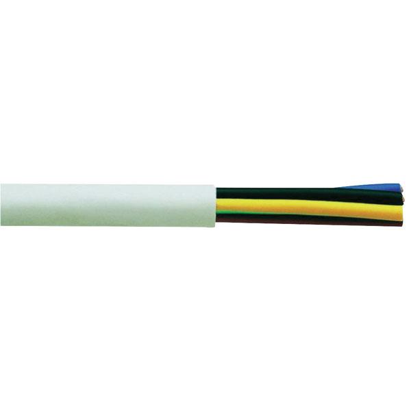 Image of Faber Kabel 030020 Flexible Flame-retardant H05VV-F 3 x 1.5mm² Black