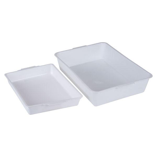Image of Rapid Small Pond Tray - 342 x 251 x 51mm - White