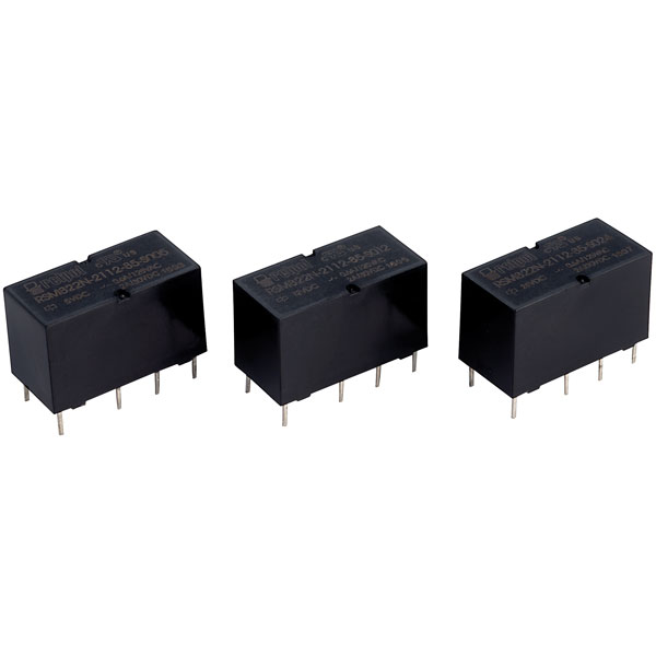 Relpol RSM822N-2112-85-S012 DPDT Subminiature Signal Relay 12V 2A PCB
