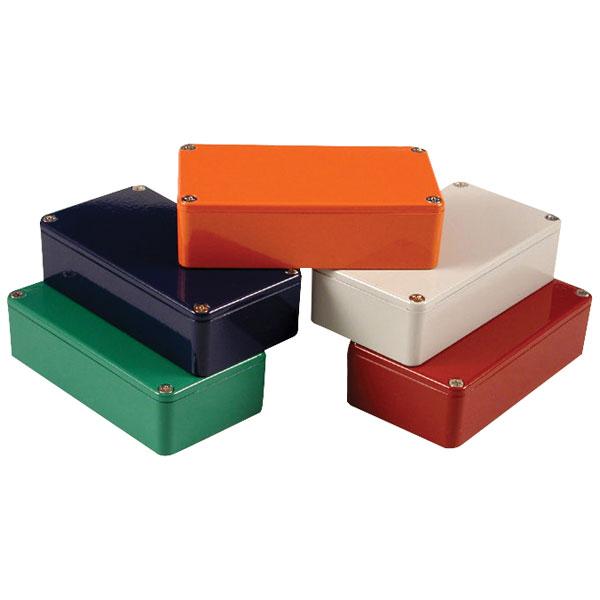 Hammond 1590G2OR Die Cast Stomp Box Orange 100 x 50 x 31