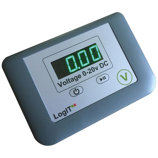 Image of LogIT D106110 LogIT LED Voltmeter Pack of 10