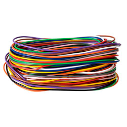 Unistrand 1/0.6 Single Core Equipment Wire Pack (11 Colours x 2m)