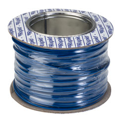 Rapid GW010305 Equipment Wire Single Core 1/0.6 Blue (Reel of 100m)