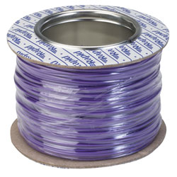 Rapid GW010340 Equipment Wire Single Core 1/0.6 Violet (Reel of 100m)