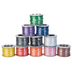 Unistrand 1/0.6 Single Core Equipment Wire Multi Pack (11 Colours x 100m)