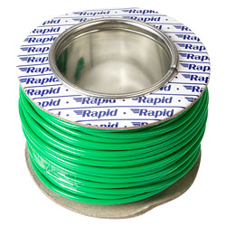 Rapid GW010615 Extra Flexible Wire Green 25m