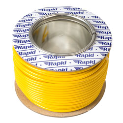 Rapid GW010630 Extra Flexible Wire Yellow 25m