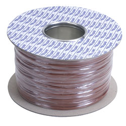 Rapid GW012204 500m Reel Brown 7/0.2mm Wire