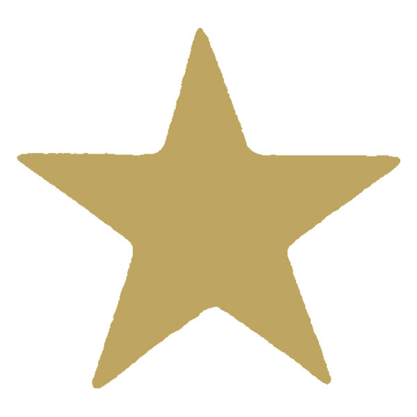 Image of Xstamper Xclamation Gold Star Stamp
