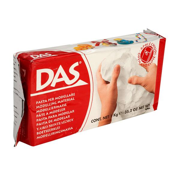 1 Kilo DAS Modelling Clay White 1 Kg