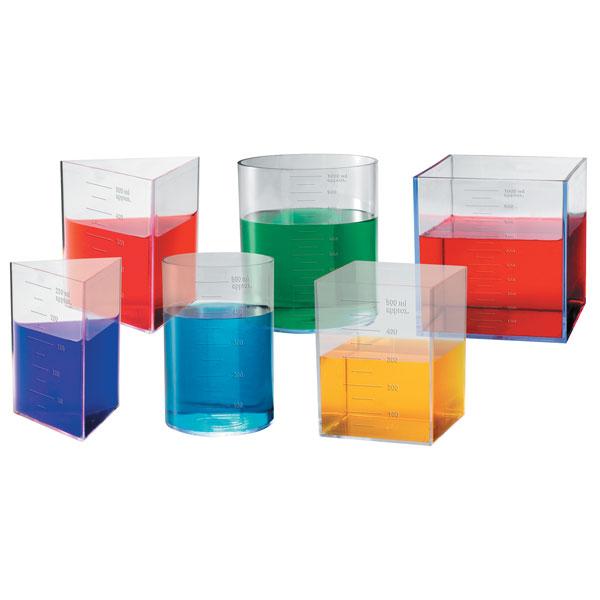 Image of Learning Resources LER1206 Litre Set - Set of 6