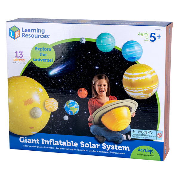 Image of Learning Resources LER2434 - Inflatable Solar System Set