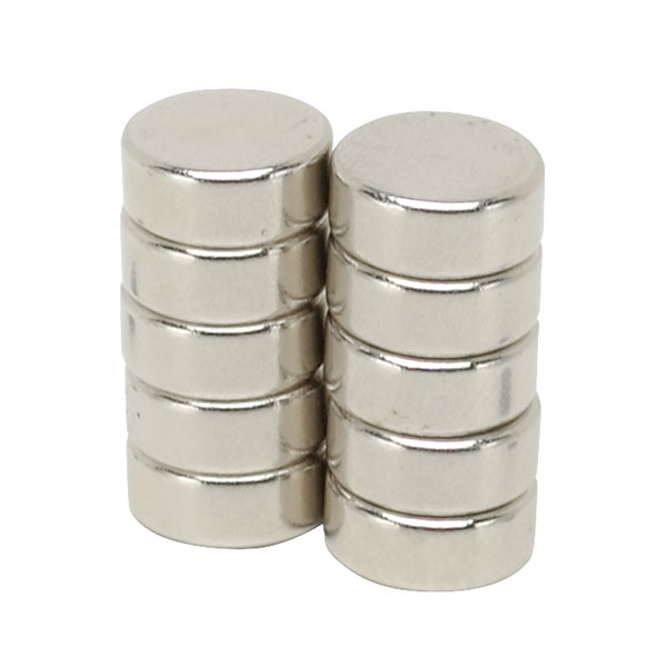 Image of Shaw Magnets - Neodymium Disc Magnets - 10 x 4mm - Pack of 10