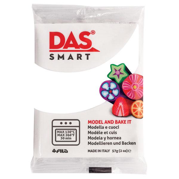 DAS 321001 Smart Oven-Bake Clay 57g 2x 28.5g White
