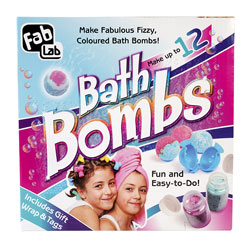 Interplay FL005 - FabLab Make Your Own Bath Bombs Kit - To Make 12 Bath Bombs