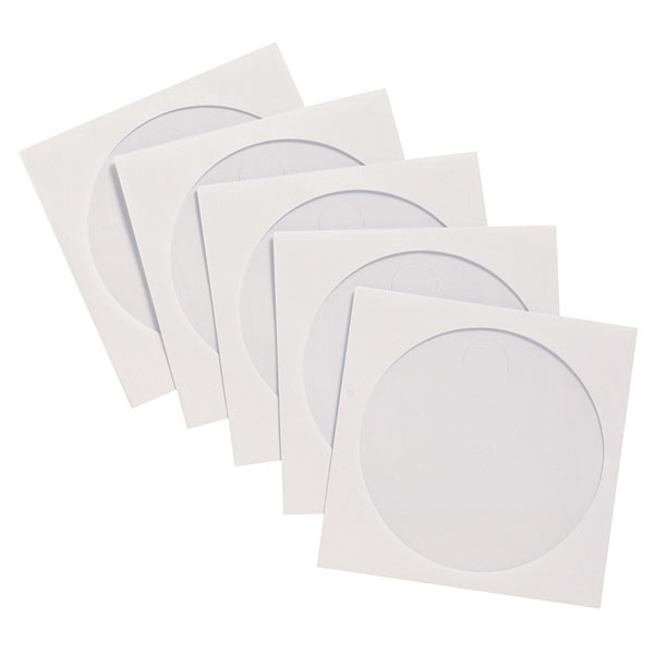 Image of Q-Connect KF02206 Paper CD Envelopes - Pack of 50