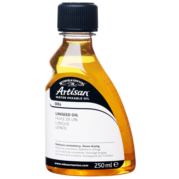 Winsor & Newton Artisan Water Mixable Linseed Oil 250ml