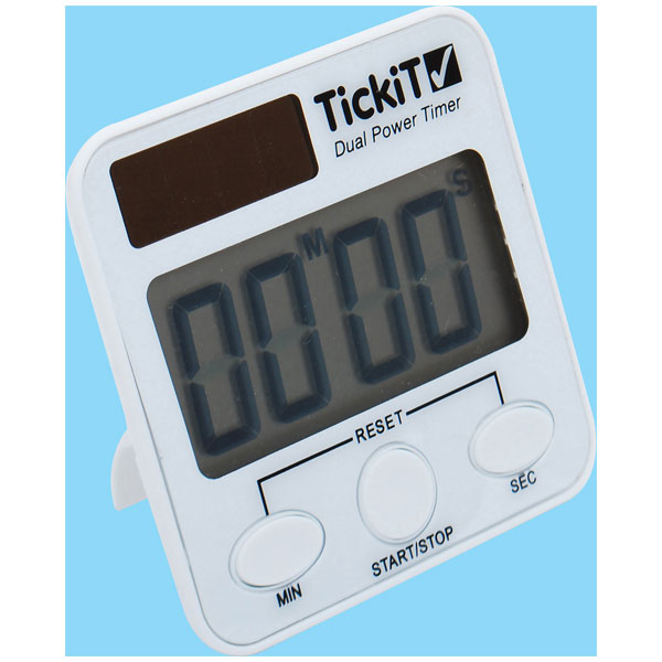 Image of TickiT Dual Power Timer Pack of 5