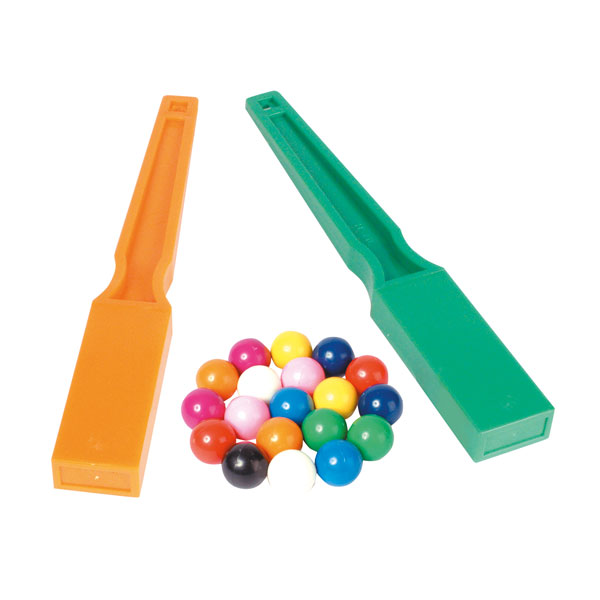 Image of Shaw Magnets - Set of 2 Wands & 20 Marbles