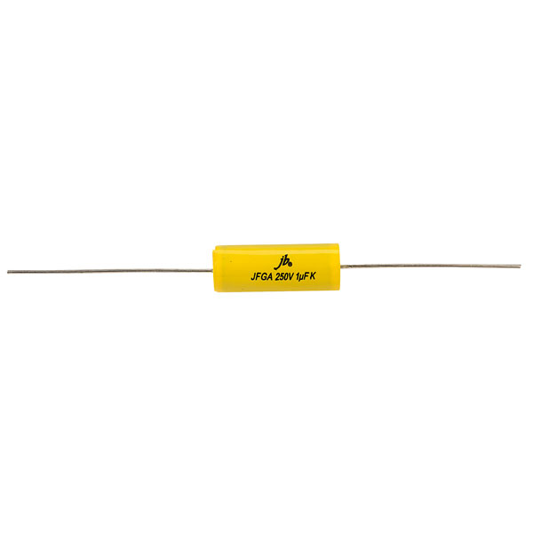 JB Capacitors JFGC 0.47uF 10/% 250V Axial Metallized Polypropylene Capacitor