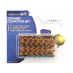 Velleman K/CAP1 224-Piece Ceramic Capacitor Kit