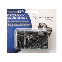 Velleman K/CAP2 Electrolytic Capacitor Kit (120-Piece)