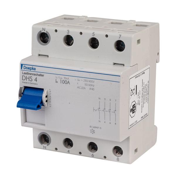 2//0,03-AC Doepke 100amp-2 pole RCCB