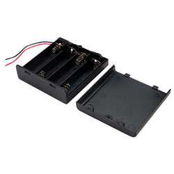 TruPower SBH341-1AS Battery Box 4x AA with Switch