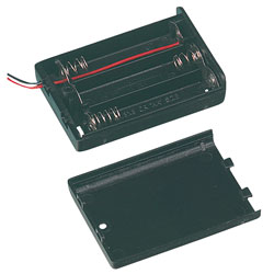 TruPower SBH-331A Enclosed Battery Box 3 x AA