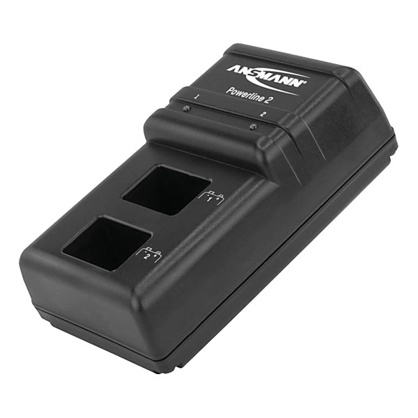 Ansmann Powerline 2 9V PP3 NiMH Plug in Battery Charger