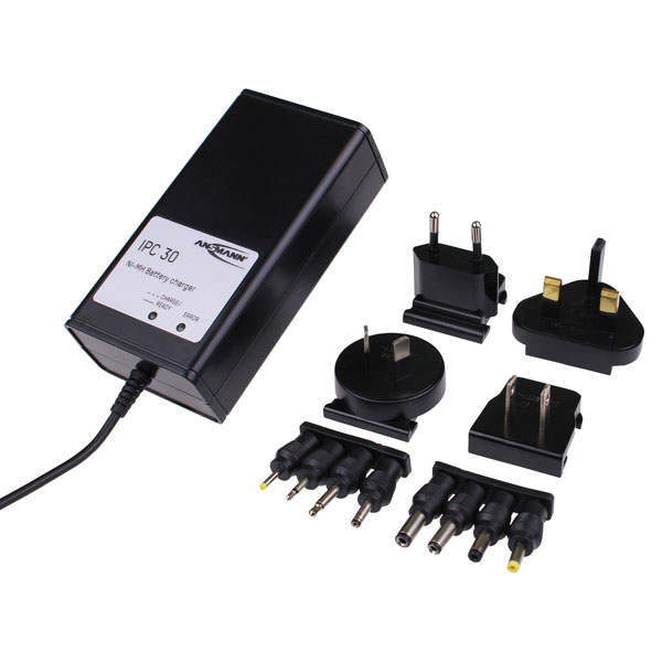 Ansmann 2000-0001-05 IPC30 Charger Li-Ion 0.7A 3 Cell