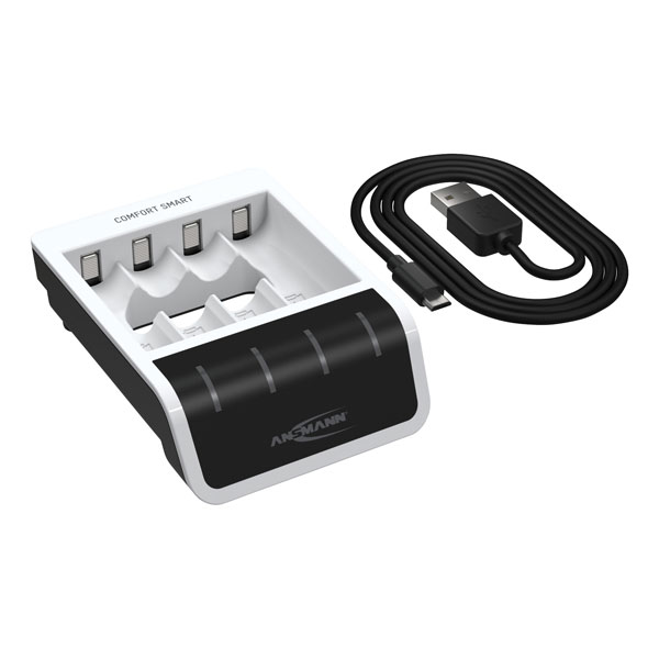 ANSMANN 1001-0092 Comfort Smart Battery Charger