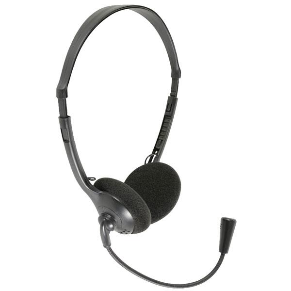 AV:Link 100.056UK MH30 Multimedia Headset With Boom Microphone