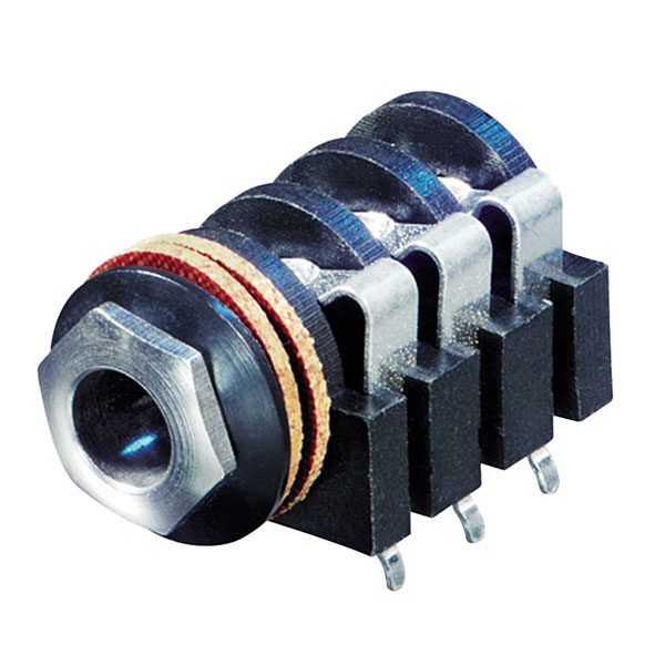 "Neutrik AG NYS215 Stereo Jack Socket 0.25"""