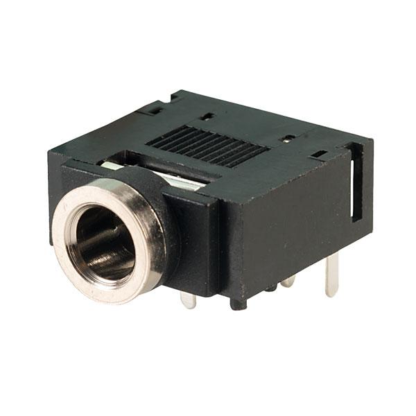 TruConnect PCB Jack Socket (Stereo) 3.5mm