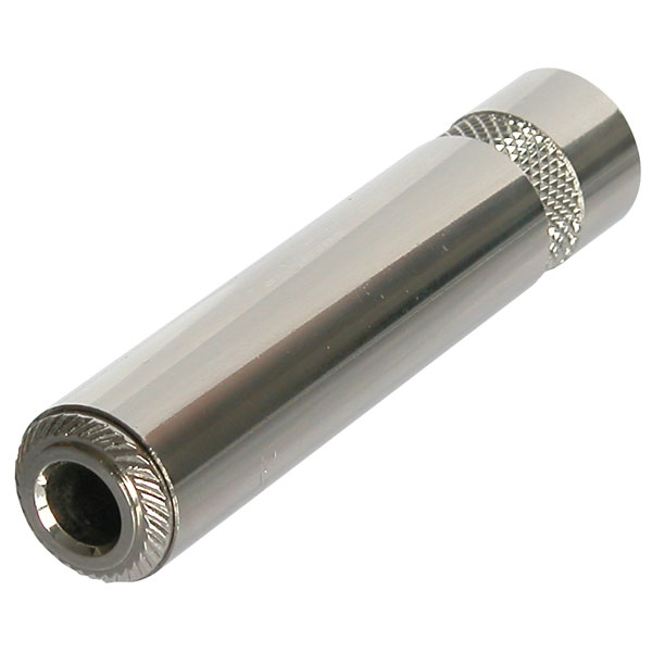 Neutrik NYS2202P 6.35mm Screened In Line Mono Jack Socket
