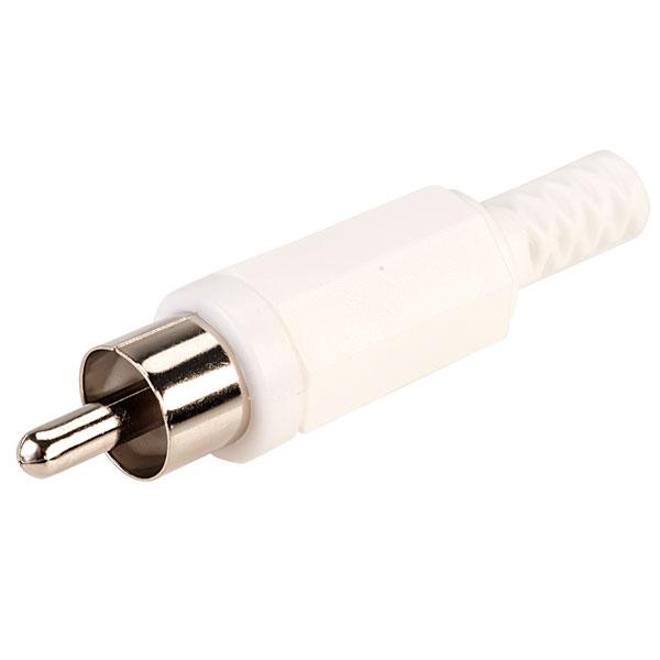 TruConnect Phono Plug - White